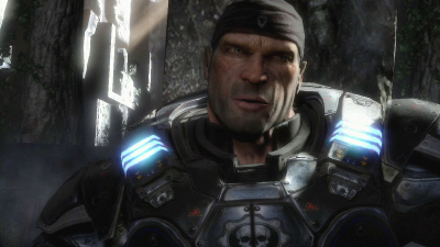 Marcus Fenix from Gears of War